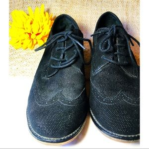 GIANNI BINI || textured oxfords